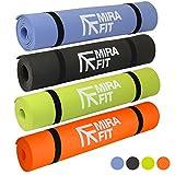 MiraFit Tappetino fitness spessore 6 mm - Ampia scelta di colori