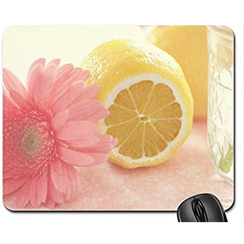 Pink Lemonade Mouse Pad, Mousepad (Flowers Mouse Pad) - Pad Lemonade