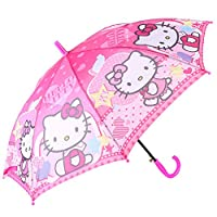 New Hello Kitty Girls and Womens Pink Lace Parasol Umbrella