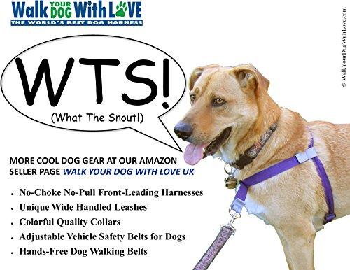 Würge-freies, zerr-freies, von vorne führendes Hundegeschirr, Originalausführung, Größe 3 kg bis 113 kg, 8 Farben - 5