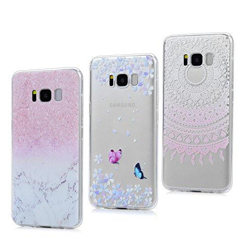 3x Funda para Samsung Galaxy S8 Plus, Carcasa Silicona Gel Case Ultra...