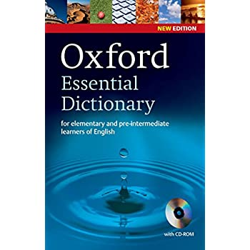 Oxford Essential Dictionary (1Cédérom)