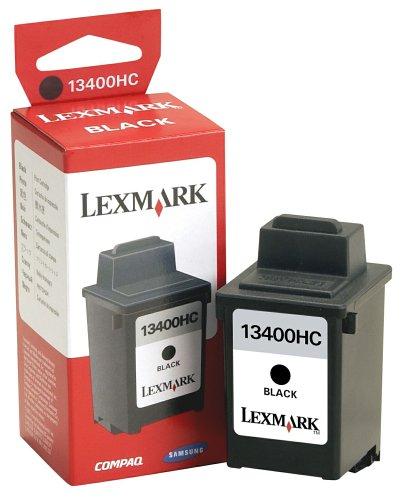 13400hc Tinte (Lexmark Patrone 13400HC wasserresistent Standardkapazität Tinte schwarz 600Seiten ColorJetPrinter 1000/2030/2050/1020/3000)