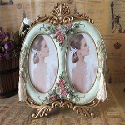 XBR El regalo de boda _ estilo europeo de doble 5 pulgadas marco de fotos Combinacion Frame Regalo...