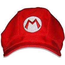 Super Mario Gorro–variantes Luigi Wario (Peaches Disfraz Cap Sombrero Gorro, rubia Party Nintendo