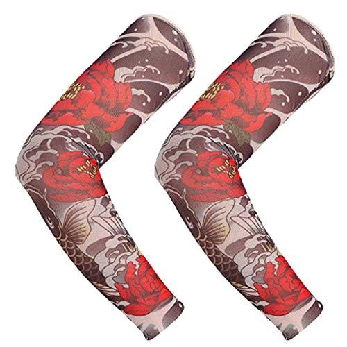 Nylon-Armstrümpfe Tatoo Cool, Mamum, Nylon, elastisch, temporäre Tattoo-Ärmel Designs, Body-Arm-Strümpfe, Tatoo Cool Einheitsgröße B
