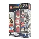 LEGO-DC-Comics-Super-Heroes-8020271-Orologio-da-polso-componibile-per-bambini-con-cinturino-a-maglie-e-minifigure-Wonder-Woman