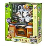 Color Baby - Cocina con luz y accesorios, 29 x 12 x 32 cm (42955.0)