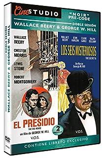 Doble Sesión Noir Pre-Code Wallance Beery & George W. HILL (V.O.S): El Presidio (The Big House) 1930 & Los Seis Misteriosos (Th