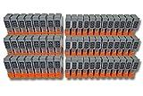 vhbw 60x Druckerpatronen Tintenpatronen Set für Canon SmartBase BJC-4100, BJC-4200, BJC-4300 wie BCI-24BK, BCI-24C.