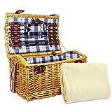 Fine Food Store Sutton Cesta de picnic de lujo para 4 personas