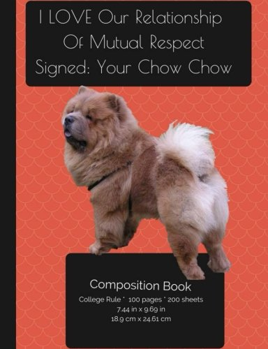 chow-chow-dog-college-ruled-writers-notebook-for-school-teacher-office-student-softback-perfect-boun