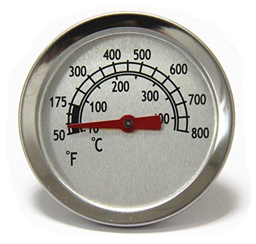 Hongso 5,4cm TG800Heat Indicator Grill Thermometer Ersatz für Char-Broil Grills und BBQ Raucher