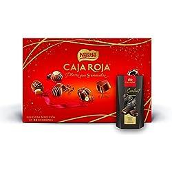 Nestlé caja roja 800gr + Nestlé Coulant Chocolate Negro Premium