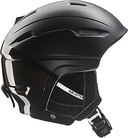 Salomon Ranger 4D C.Air 2016 Ski and Snowboard Helmet In Black Medium 56-59cm, Black Matt