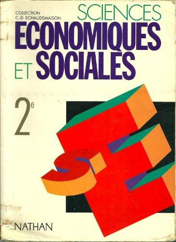 Sciences economiques et sociales 2e travaux pratiques version corrigee reservee au professeur 2004