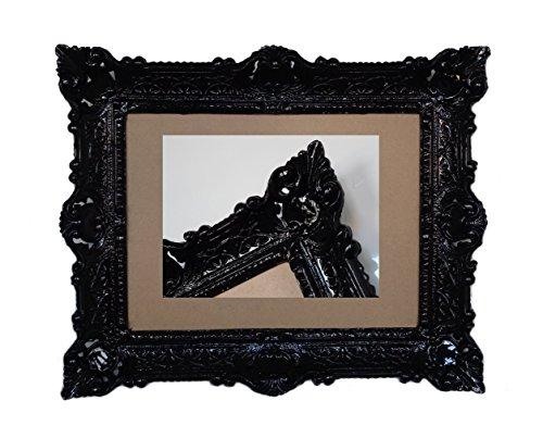 Lnxp Antik Barock BILDERRAHMEN in Schwarz 56x46cm RECHTECKIG REPRO Bilder für 30x40cm Oder 40x30 cm...