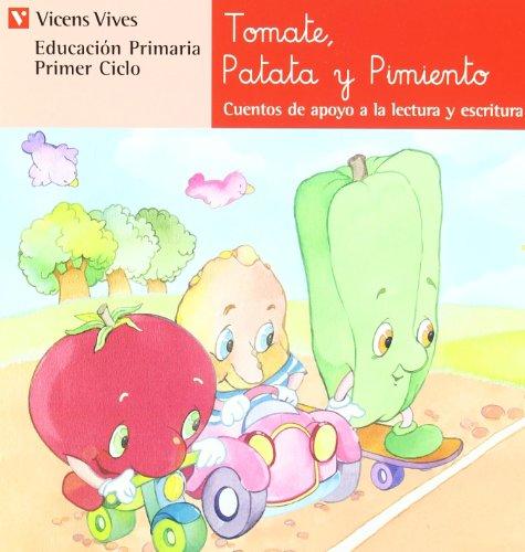 N.3 Tomate, Patata Y Pimiento (Cuentos de Apoyo. serie Roja) - 9788431629748 por Ana Fernandez Buñuel
