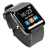 Smart Watches Best Deals - [Smartwatch Montre Connectées] EasySMX Dernière Android Smartwatch Bluetooth 4.0 EasySMX Multi-Languages Smart Bande Watch Smart watch avec Ecran Tactile Montre Intelligent Support Android Smartphones Including Samsung, HTC, Sony idéal cadeau pour Amis, E