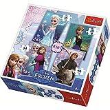 Trefl – Disney – La Reine des Neiges – 4 Puzzles – 35, 48, 54, 70 Pièces