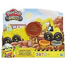 Hasbro Play-Doh- Excavator N Loader, Multicolore, E4294EU4