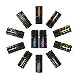 Lote de aceites esenciales de aromaterapia 100% naturales para humidificador