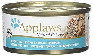 Applaws Kitten Food Tin Tuna, 70g, Pack of 24
