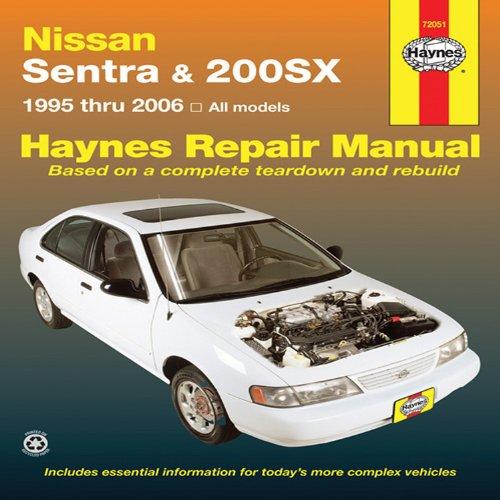 Haynes Repair Manual Nissan Sentra & 200sx 1995 Thru 2006