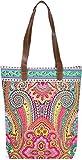 styleBREAKER Damen Shopper Einkaufstasche mit Paisley Ornament Muster im Ethno Design,...