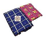 Ayaan Textiles Women's Sana Panter Silk Saree With Bangalore Silk Blouse
