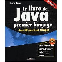 Le livre de Java : Premier langage (1Cédérom)