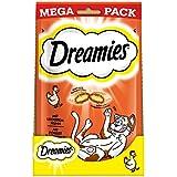 Dreamies Katzensnacks Klassiker / Katzenleckerli mit wertvollen Vitaminen und Mineralstoffen / Huhn / 4 x 180g