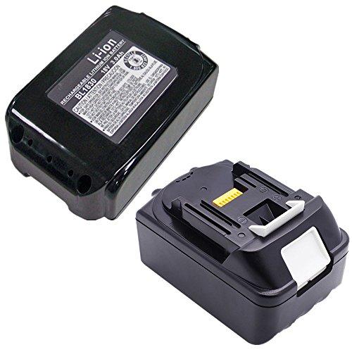 Preisvergleich Produktbild 2 Stück 4,0 Ah 18V Ersatz Li-Ion Akku für Makita BL1830 BL1840 BL1850 194205-3 194205-5 194309-1 BL1815 LXT400 (4.0ah)
