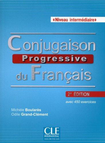 Conjugaison progressive du français - Niveau intermédiaire - Livre + CD - 2ème édition