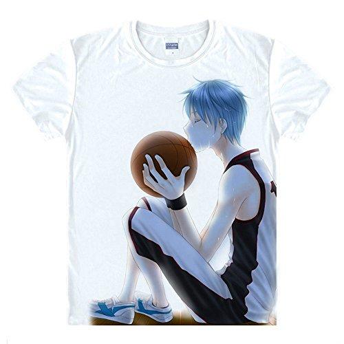 Kuroko No Basketball T-Shirt Kuroko Tetsuya Kostüm Cosplay (Cosplay Kuroko Kostüm Tetsuya)