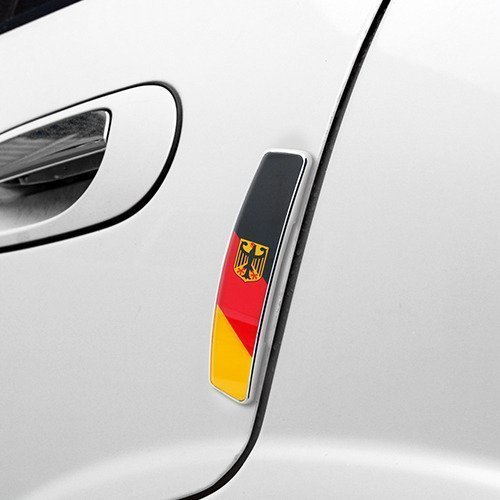NEW TRAND TRADING Stylish and Cool Bundes Flagge Europeon Door Guard Protector for Land Rover Discovery 4 [2012-2013]