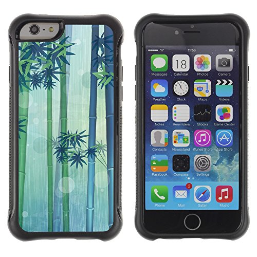 Graphic4You CHICKEN AND WAFFLES Muster Shockproof Anti-Rutsch Weichen Hülle Case Tasche Schutzhülle für Apple iPhone 6 Plus / 6S Plus Design #3