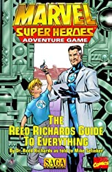 The Reed Richards Guide to Everything (Marvel Super Heroes) by Mike Selinker (1999-07-02)