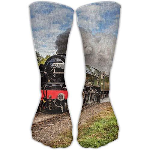 Women's Men's Classics Socks Steam Train Scottish Borders Athletic Stockings 30cm Long Sock One ()