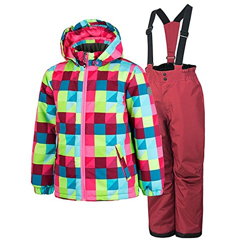 Color Kids Rummy padded ski set Kinder Winter Schneeanzug Kids Zweiteiler
