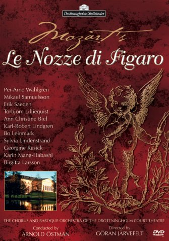 Preisvergleich Produktbild Mozart - Le Nozze di Figaro (The Marriage of Figaro) / Ostmann, Wahlgren, Samuelsson, Drottningholm Court Theatre