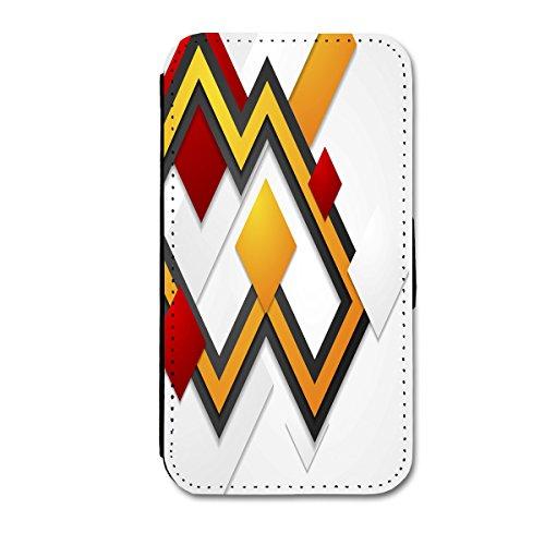 Book Style Flip Handy Tasche Case Schutz Hülle Schale Motiv Etui für Apple iPhone 4 / 4S - A49 Design8 Design 3