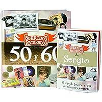 CALLE DEL REGALO Libro 'Queridos Recuerdos' de los años 50 y 60 (Libro + Tarjeta Personalizada)