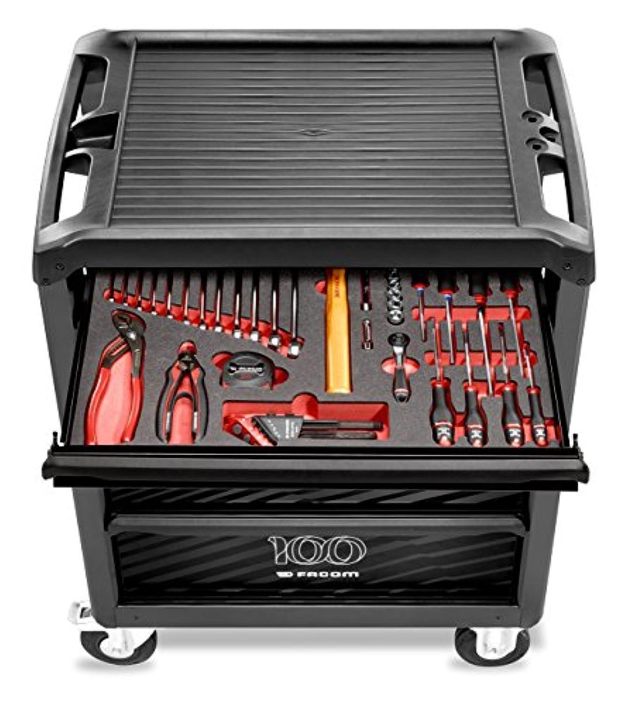 cost charm best online classic fit FACOM ROLL.6M3PGCM100 Servante d'atelier équipée - 6 tiroirs ...