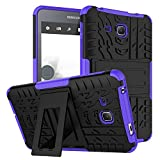 """Coque Silicone Galaxy Tab A 7.0"""" 2016,KATUMO® Protection SM-T280 Etui Housse Gel pour Tablette Samsung Galaxy Tab A 2016 7,0 pouces Cover Case-Violet"""