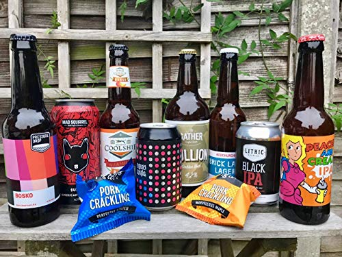 Beer Me Now - A Taste of the UK - A Selection of 8 Craft Beers from Breweries around the UK