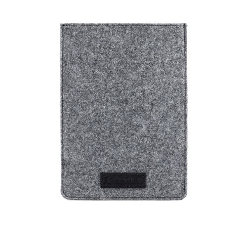 FEYNSINN Tablet-hülle Leder DEAN Cover Unisex iPad-Tasche echte Lederhülle Damen Herren schwarz