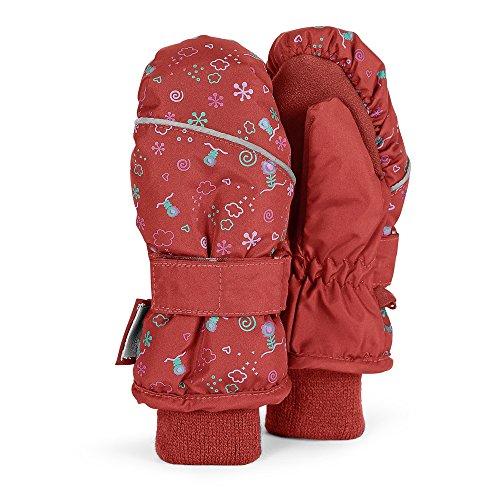 Sterntaler - de fille à motifs mitaines gants thermique moufle, rouge - 4321605r Rouge