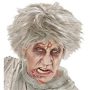 WIDMANN - Peluca para disfraz de adulto zombi (6743)