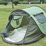 Hochwertige Doppelschichten Wandern Zelt Verdickt Versilberung Oxford Tuch Zelt Outdoor Camping Zelt Für 3-4 Personen
